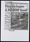 'Fire Ravages £30,000 boat'